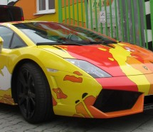Lamborghini Art Car 2017