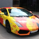 Pop Art Lamborghini