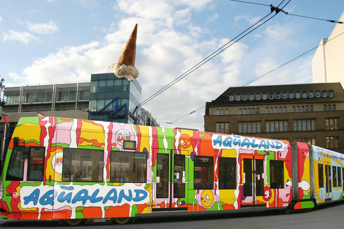 Aqualandbahn im Einsatz in Köln
