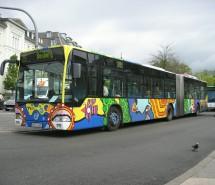 Bunter Linienbus, Heidelberg 2004