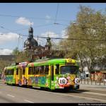 Verkehrsmittelwerbung