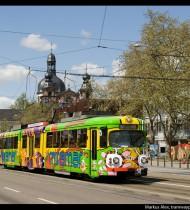 Miramar – Werbestraßenbahn Mannheim 2008