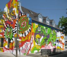 """Buntes Haus"" München 2011"