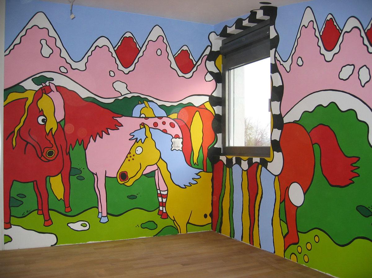 Gesamtansicht  Kinderzimmer