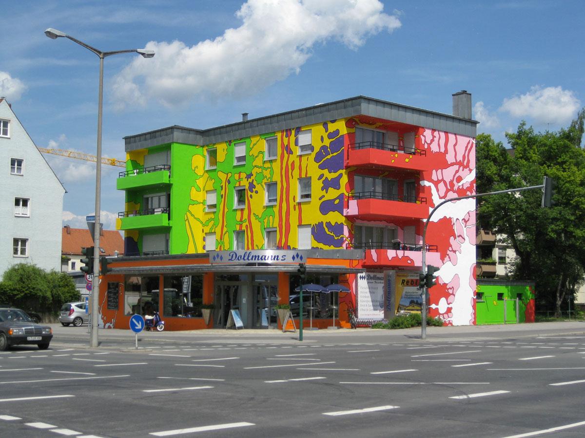 Fassadenkunst Regensburg 2009