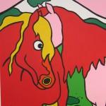 Detailansicht Pferde