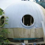 Die Kuppel mit Wasserdampfsperre