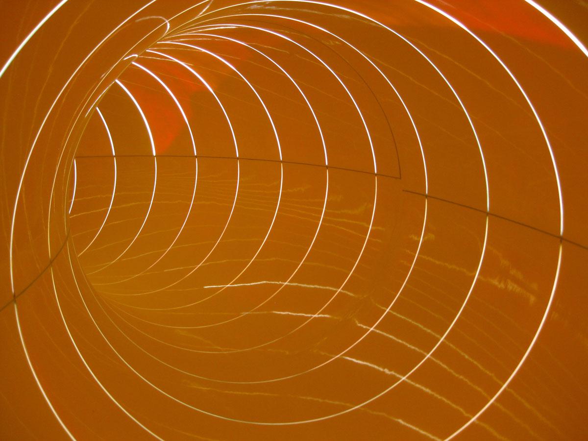"""Innenansicht """"Aquaracer""""- Element  mit Tageslichlichteffekten"""