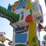 "Ansicht Turm mit ""Aquaracer""- rutsche"