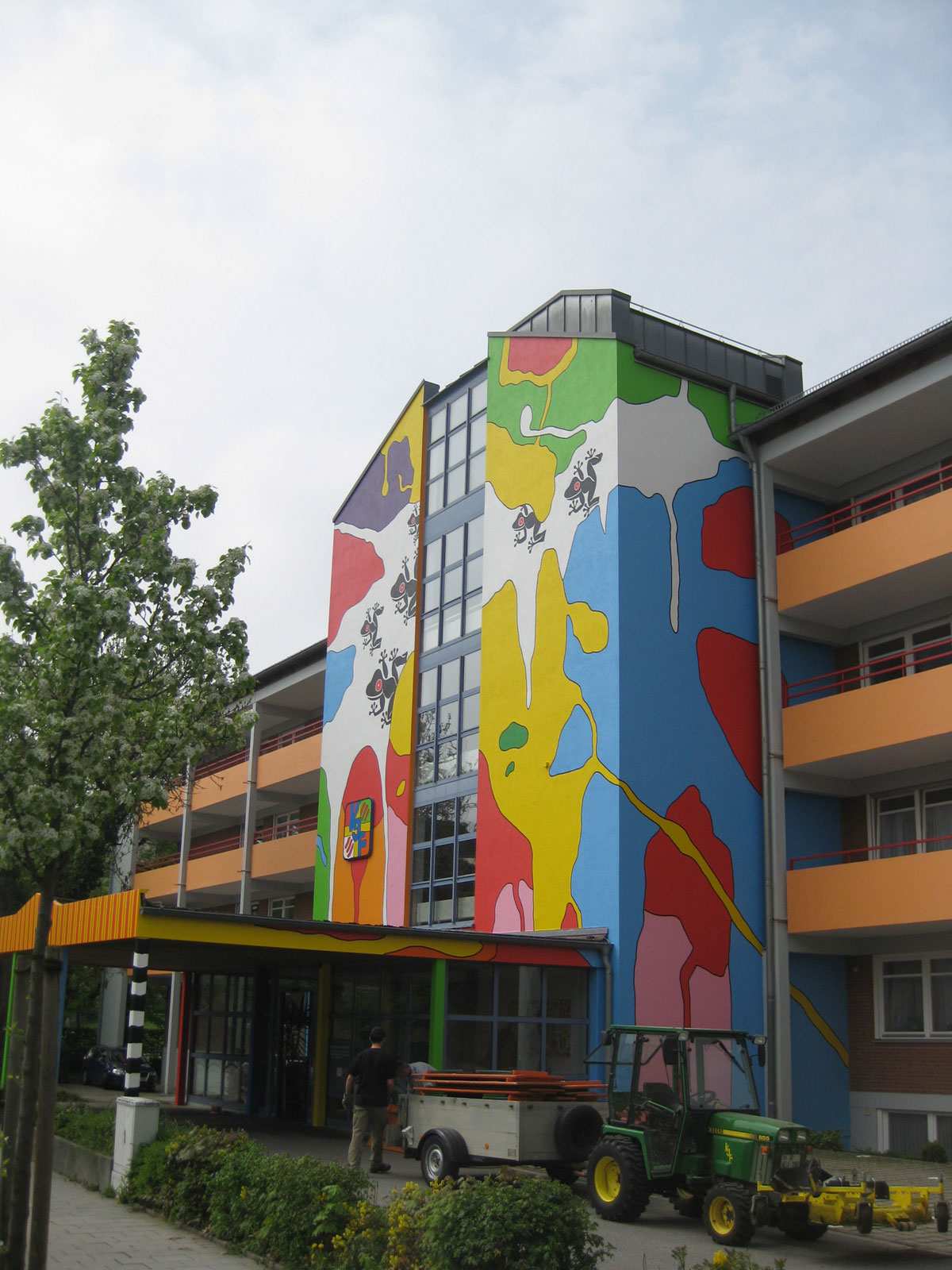 Fassadenkunst Regensburg2013
