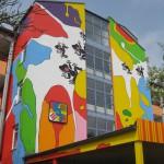 Fassadenkunst Regensburg 2013