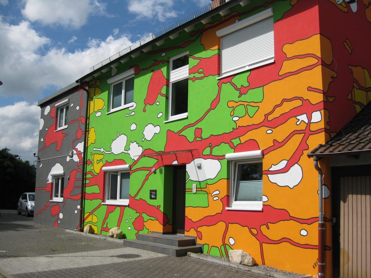 Fassadenkunst Heidelberg