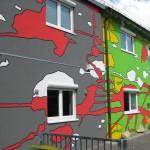 Fassadenbemalung Heidelberg
