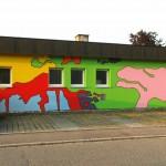 Fassadenkunst Kita Eimeldingen