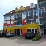 Fassadenkunst Wustermark bei Berlin
