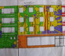 Entwurf Buntes Haus Regensburg 2009