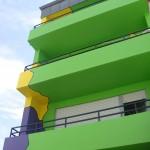 Detailansicht Balkone