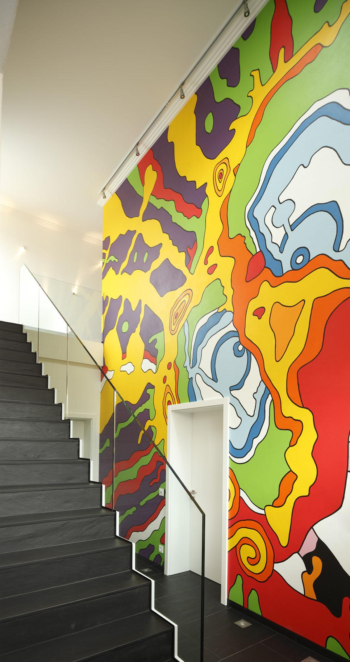 Treppenhaus Designervilla